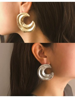Vintage style metal earrings zinc alloy