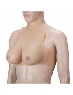 Silicone Breast Torso Zipper Back D Cup