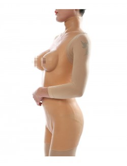 D Cup Short Body Suit Silicone Breast Vagina Naked