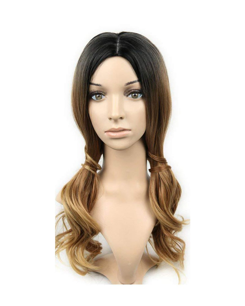 Blonde Black Wig 20 inches