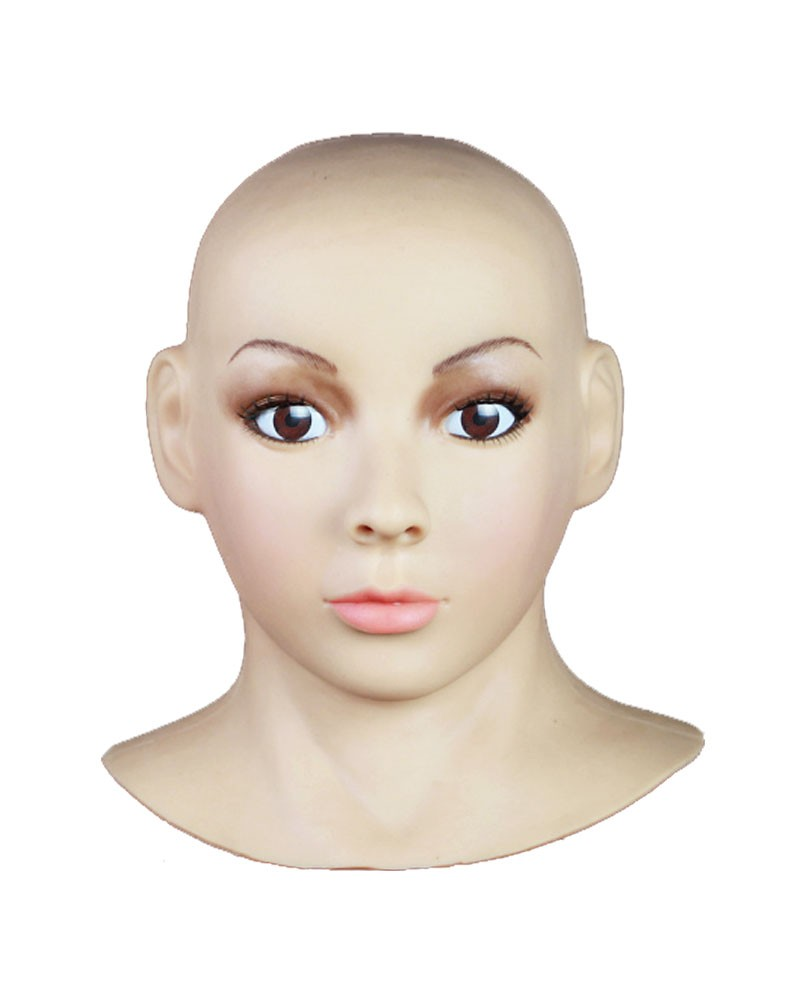 Female Mask Silicone Disguise