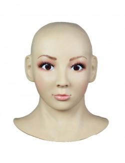 Cagoule Masque Silicone female Prothèse Visage