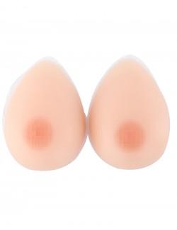 Paire de faux seins 100% forme de goutte Auto-adhésif
