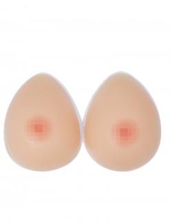 Paire de faux seins 100% forme goutte d'eau