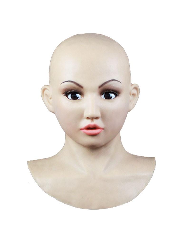 Female Hood Mask Silicone Cross dresser