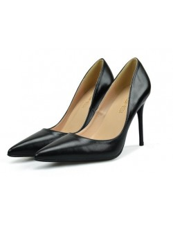 Noir mat escarpins pointus stilettos grande taille