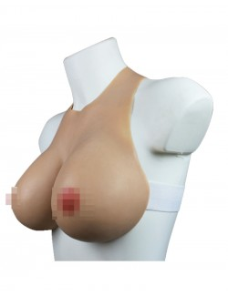 Faux seins formes silicone sangle ajustable