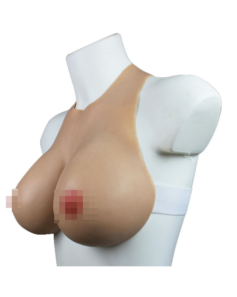Breast Silicone Bust Female Strap