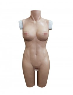 Female Body Suit Silicone Breast plate Vagina Naked Afforable