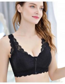 Wireless Full-Coverage Bra & Silicone Breast Forms Set