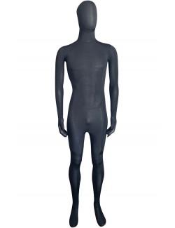 Black catsuit second skin unisex
