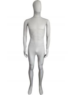 Light Grey Silk Lycra Unisex Zentai Suit