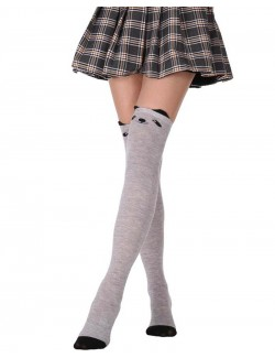 Funny & Cute Cat Thigh High Socks