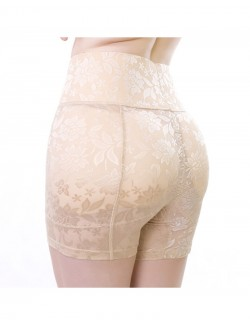Sexy Lace Hip Enhancer Butt Lifter Panties with Padding