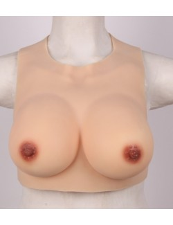 Lightweight Breast Plate Silicone Backless Summer
