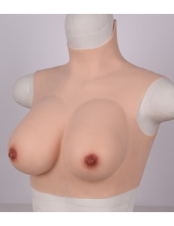 C cup Lightweight all new breast plate silicone