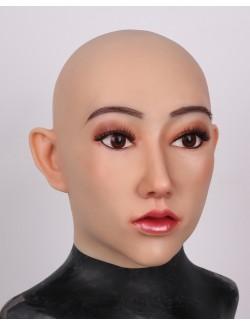 Silvest visage cagoule masque silicone déguisement