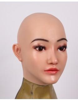 Cagoule masque visagede sophie silicone travestis