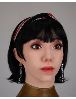 Visage Catherine cagoule masque silicone déguisement