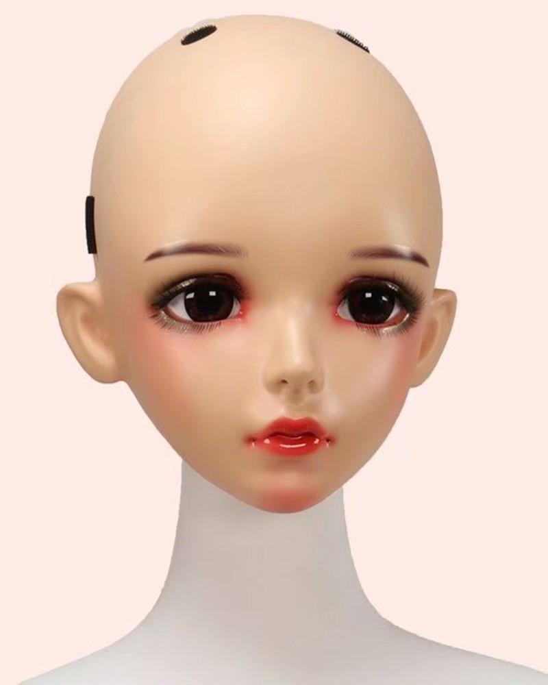 Lucia Realistic Female Face Mask