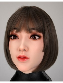 Kaitlyn's face mask silicone wig makeup
