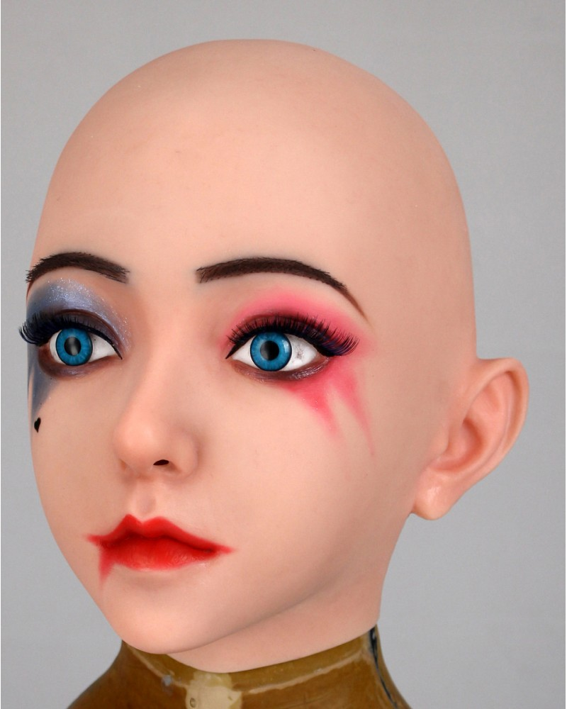 Avril's female mask silicone wig makeup Version 1