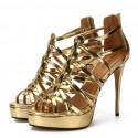 8cm High heels big size sandals fashion sandals summer
