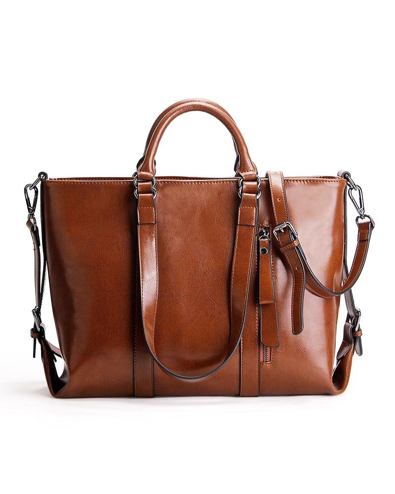 Handbags leather ladies shoulder daily bag cowhide