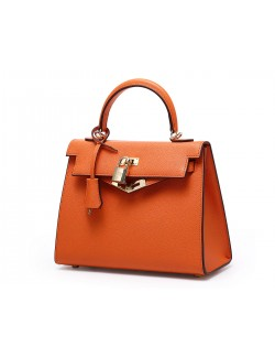 Small female handbag leather Kelly shoulder messenger bag