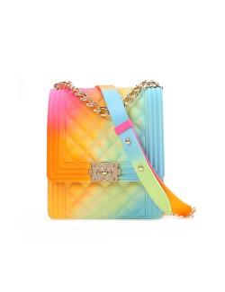 2020 New Rainbow Chic Simple Diagonal Bag