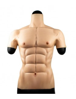 Silicone muscle t-shirt silicone muscle vest