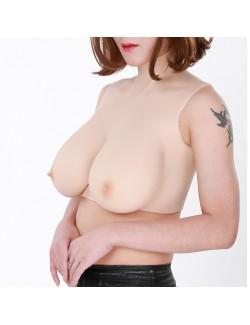Gros seins réaliste bonnet H clivage forme de poitrine parfaite