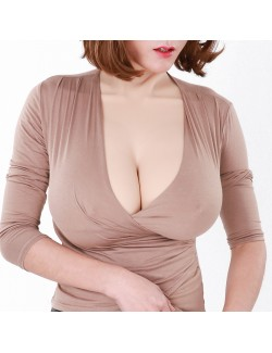 Largest breasts forms I-cup perfect shape