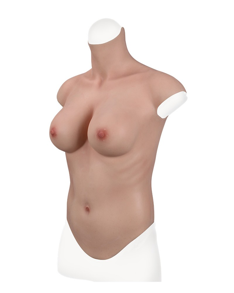 C/D/E-Cup silicone bust breastplate 2020 winter models