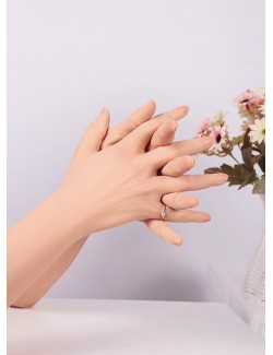 Wearable silicone female hands and arms lifelike