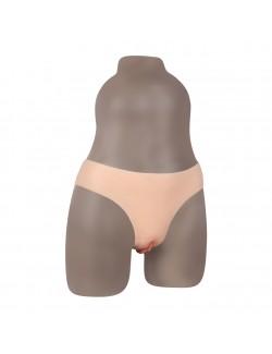 Nouveau culotte faux vagin silicone
