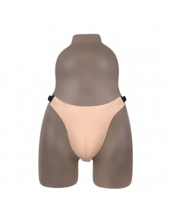 Starter edition silicone fake vagina g strings thongs
