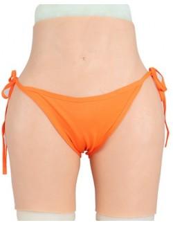 Butt lifter hip enhance silicone fake vagina panties