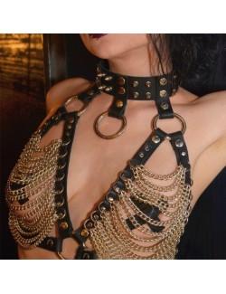 Hot waist chain belt body chain rivet rock