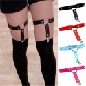 Garter suspenders strap synthetic leather stockings accessories