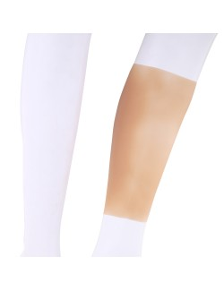 Silicone prosthesis sleeve for legs and arms