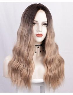 Long wave hair wig natural and realistic