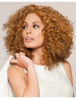 Perruque de cheveux bruns afro perruque à gros cheveux