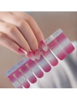 Décoration ongles brilliantes autocollant en gel vernis