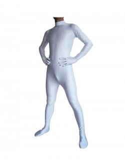 White catsuit second skin unisex