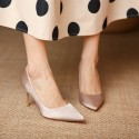 3 inch 8 cm french retro pointed heels