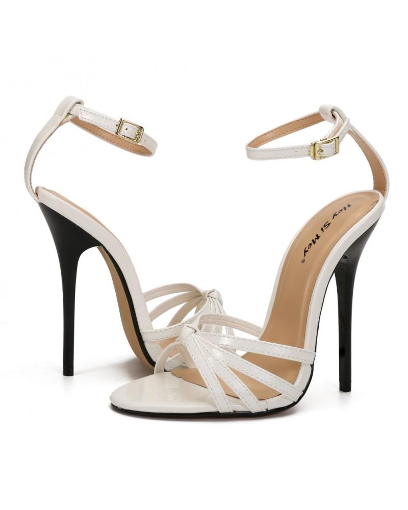 Plus size super high heels sandals