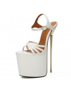 9 inch high heel platform sandals