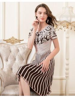 Evening dress formal gown senior lady