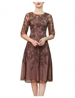 Ladies gown semi formal wear